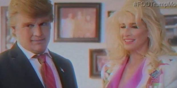 Quand Johnny Depp parodie Donald Trump (VIDEO) - La DH