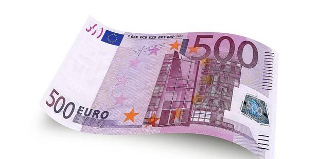 Le billet de 500 en sursis for Cuisine 500 euros