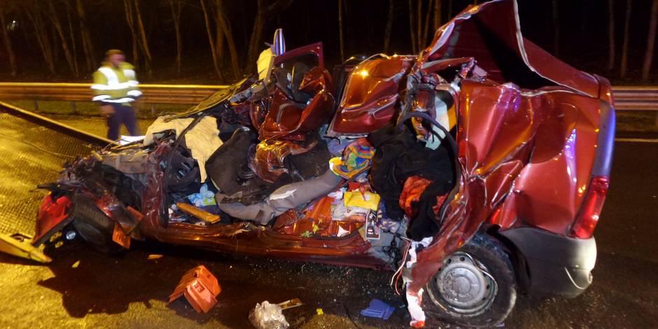 Heppignies: accident mortel sur l'autoroute E42