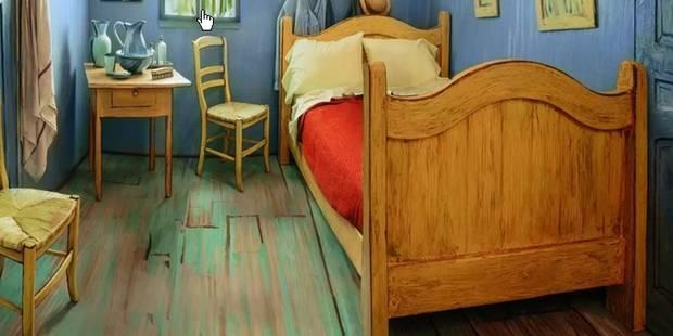 Airbnb propose de loger dans cette célèbre chambre - La DH