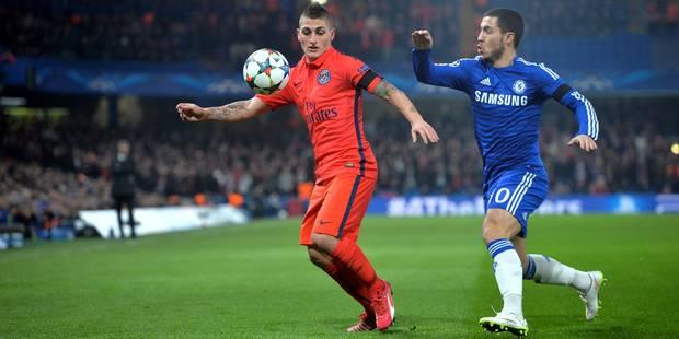 Pour la première fois, Eden Hazard drague le PSG - La DH