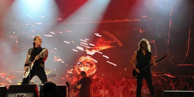 Le groupe Metallica fera don des bénéfices d'un album aux victimes des attentats de Paris - La DH