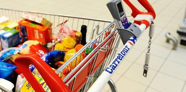Carrefour vous offre votre caddie !