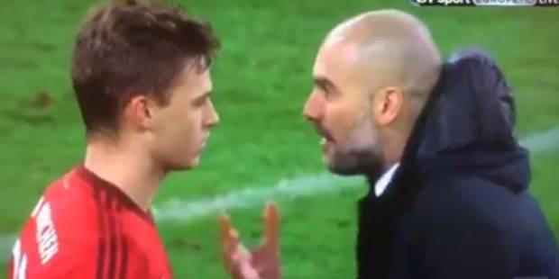 Quand Guardiola prend Kimmich entre quatre yeux (VIDEO) - La DH