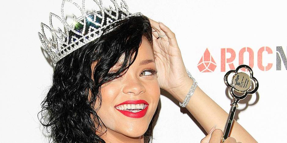 Rihanna is named the Queen of the 2012 West Hollywood Halloween Carnaval Event CA