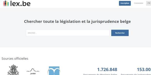 Une start-up crée un moteur de recherche gratuit recensant la législation et la jurisprudence en Belgique - La DH