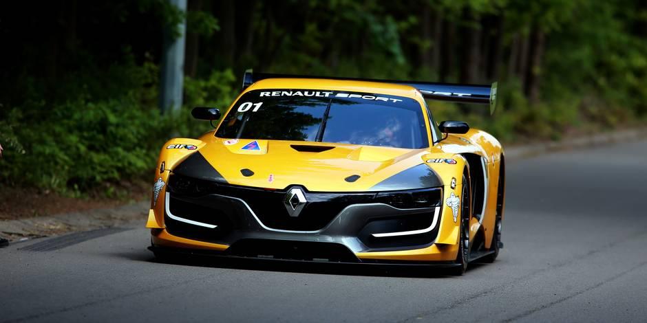La Renault RS01 exclue des Blancpain GT Series et des 24H de Spa