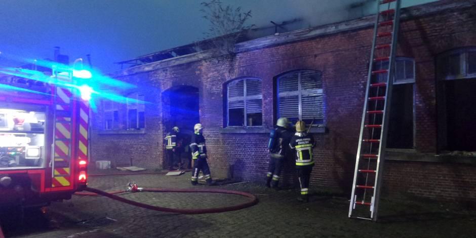 Important incendie au sein de l'ancien hôtel de police de Charleroi