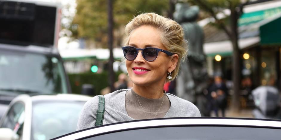 Sharon Stone s'affiche sans maquillage