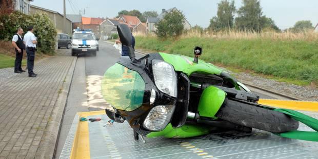 10 accidents de moto par jour en Belgique! - La DH