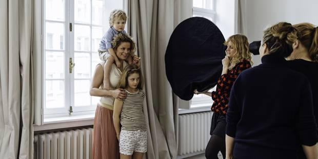 Kim Clijsters et ses enfants, égéries souriantes de JBC - La DH