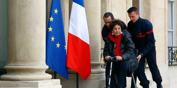 Attentats de Paris: les victimes reçues par François Hollande (PHOTOS) - La DH