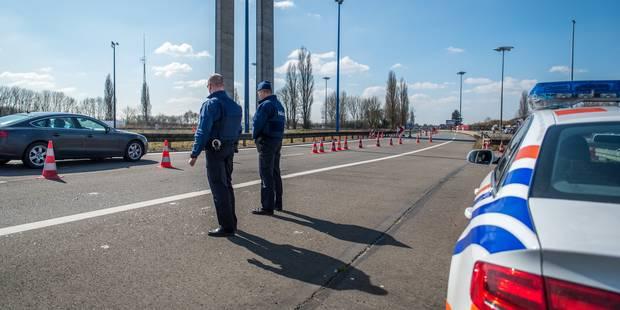 Hensies: les frontières restent ouvertes mais les contrôles sont rétablis - La DH