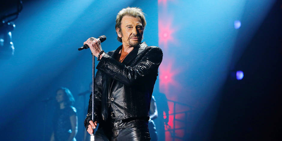 "Exclusif - Premier concert de la tournee ""Born Rocker Tour"" de Johnny Hallyday a Bordeaux"