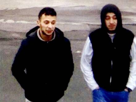 Paris shooting suspect, Salah Abdeslam, and suspected accomplice, Hamza Attou, are seen at a petrol station on a motorway between Paris and Brussels, in Trith-Saint-Leger, France in this still image taken from a November 14, 2015 video provided by BFMTV on January 11, 2016. REUTERS/BFMTV via Reuters TV ATTENTION EDITORS - THIS PICTURE WAS PROVIDED BY A THIRD PARTY. REUTERS IS UNABLE TO INDEPENDENTLY VERIFY THE AUTHENTICITY, CONTENT, LOCATION OR DATE OF THIS IMAGE. FOR EDITORIAL USE ONLY. NOT FOR SALE FOR MARKETING OR ADVERTISING CAMPAIGNS. THIS PICTURE IS DISTRIBUTED EXACTLY AS RECEIVED BY REUTERS, AS A SERVICE TO CLIENTS. NO RESALES. NO ARCHIVE. FRANCE OUT. NO COMMERCIAL OR EDITORIAL SALES IN FRANCE. BELGIUM OUT. NO COMMERCIAL OR EDITORIAL SALES IN BELGIUM TPX IMAGES OF THE DAY