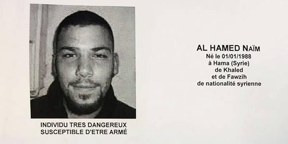 Nouveau suspect pour Paris et Bruxelles: Naïm Al Hamed