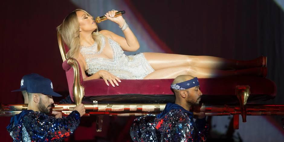 Mariah Carey annule son concert à Forest National