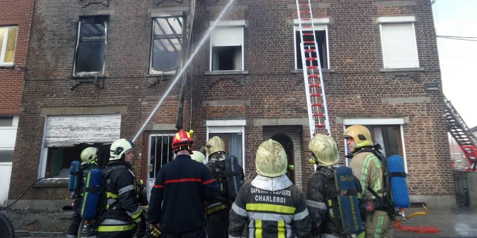 Deux maisons détruites à la suite de deux jets de cocktails Molotov à Jumet