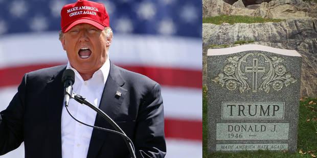 Une tombe au nom de Donald Trump découverte à Central Park - La DH