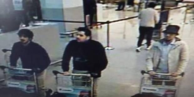 """Attentats de Bruxelles: 51 signalements de """"l'homme au chapeau"""" parvenus à la police (VIDEO) - La DH"""