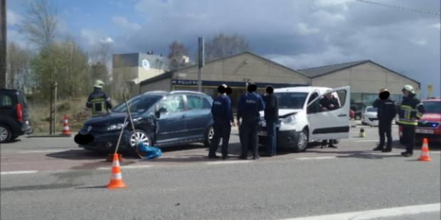 Collision en chaine sur la chaussée de Charleroi à Fleurus - La DH