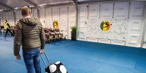 La circulation des trains très partiellement rétablie en direction de Brussels Airport - La DH