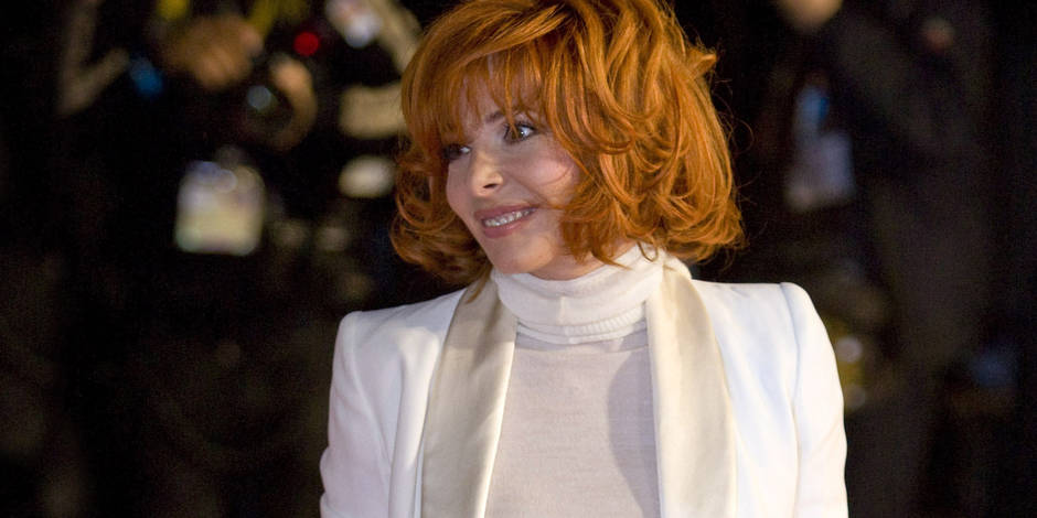 Mylene Farmer at the NRJ Music Awards 2009