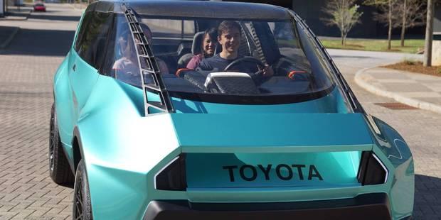 Une Toyota en carbone pour 2020? - La DH