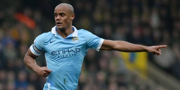 Non, Vincent Kompany ne quittera pas Manchester City affirme son agent - La DH
