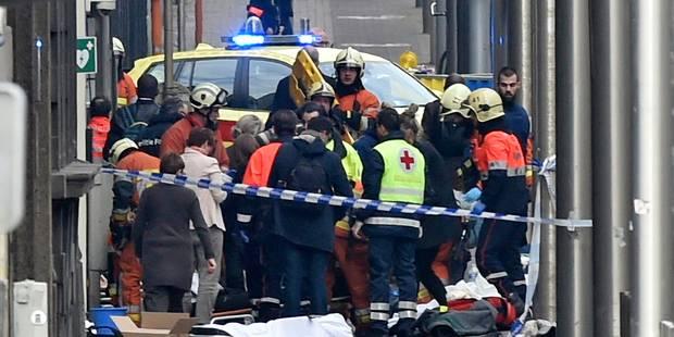 Attentats de Bruxelles: encore 44 victimes � l'h�pital