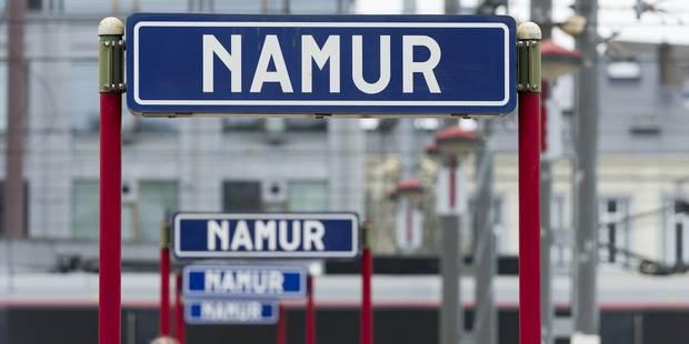 Fausse alerte à la bombe à la gare de Namur - La DH