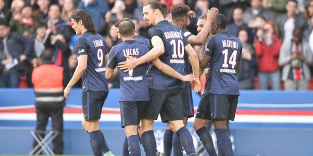 Ligue 1: Paris se soigne en étrillant Caen (6-0) - La DH