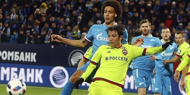 Axel Witsel parviendra-t-il à quitter le Zenit? - La DH