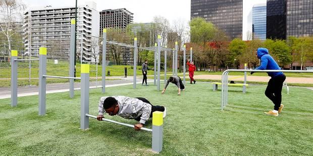Un premier parc de streetworkout à Bruxelles-Ville - La DH