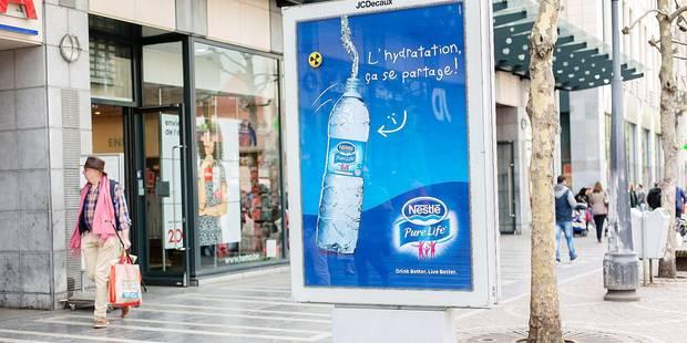 Moins de publicité dans les rues de Liège - La DH
