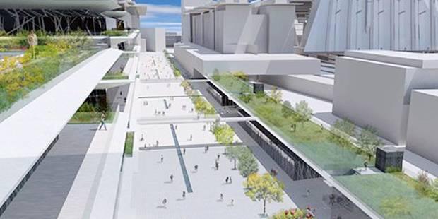 80 millions pour rénover la gare du Midi - La DH