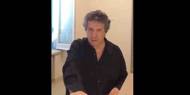 """Je ne supporte pas la fraude"": Franco Dragone chante son innocence dans une vid�o sur Youtube"
