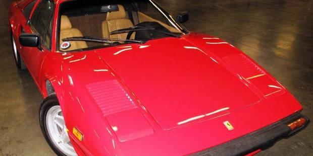 Une Ferrari volée et retrouvée... 28 ans après! - La DH