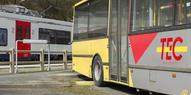 Perwez: Un jeune homme poignard� dans un bus des Tec