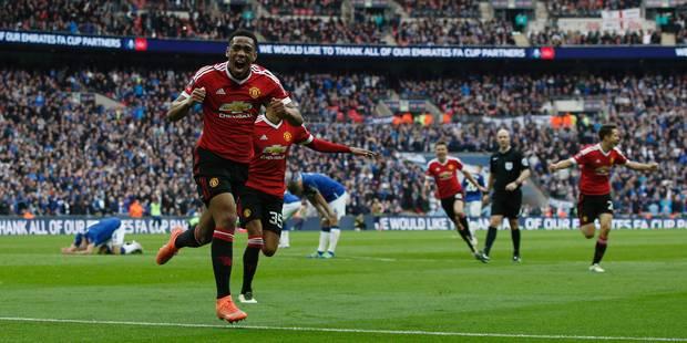 Coupe d'Angleterre: Manchester United arrache � Everton la place en finale