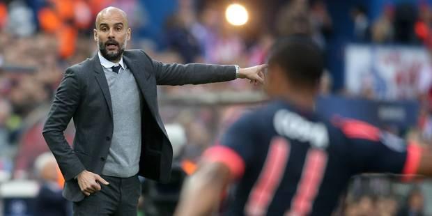 """Pep Guardiola: """"On n'a pas su gérer les premières minutes de l'Atlético"""" - La DH"""
