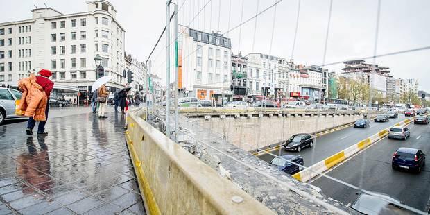 Bruxelles: un chantier mal sécurisé? - La DH