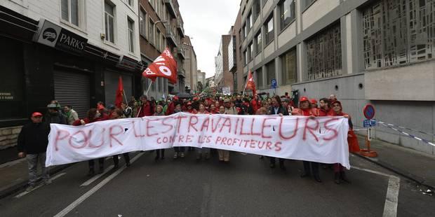 Une manifestation nationale fin mai contre la politique du gouvernement - La DH