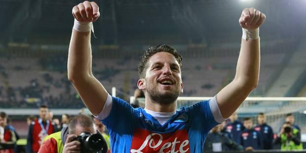Naples a pris sa décision pour Dries Mertens - La DH