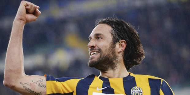 L'attaquant italien Luca Toni annonce officiellement sa retraite