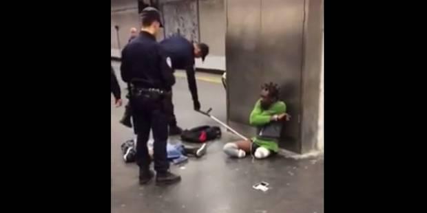 Le contrôle d'un homme handicapé par la police fait polémique (VIDÉO) - La DH