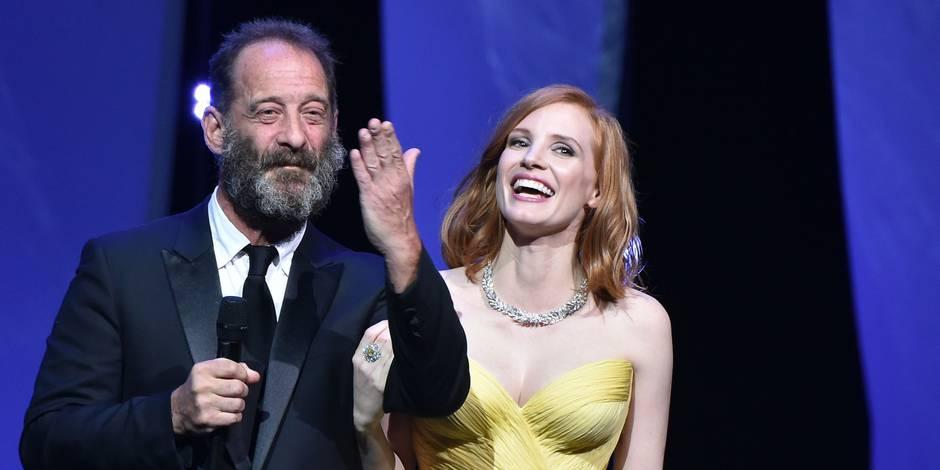 Festival de Cannes: Jessica Chastain et Vincent Lindon ouvrent en choeur la 69e édition (PHOTOS)