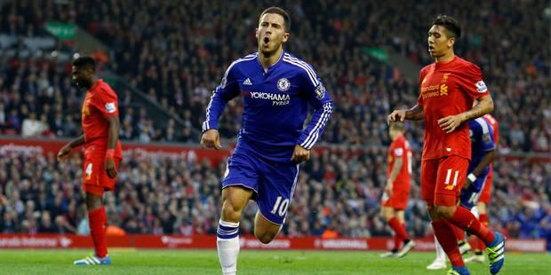 J-30: superbe but d'Eden Hazard, libéré à la veille de l'Euro, Benteke égalise (VIDEOS) - La DH