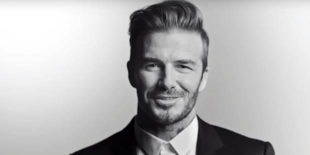 Encore un sponsor de plus pour David Beckham... - La DH