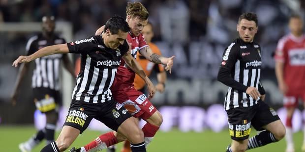 Finale aller des PO2: Perbut sauve (� nouveau) Charleroi ! (1-0)